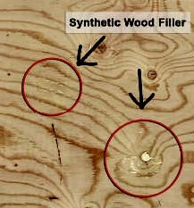 plywood fillers