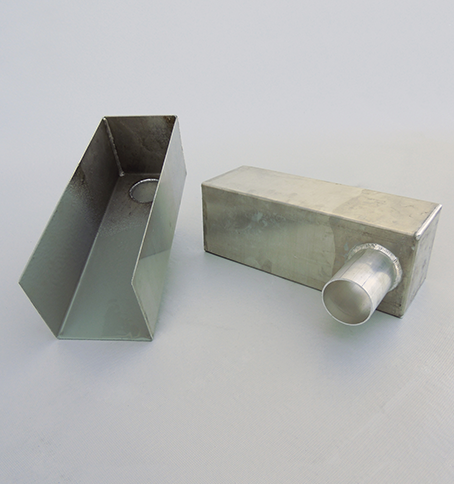 Box Scuppers Tuff Seal Tig Welded Aluminum Scupper Boxes