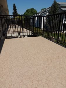 build vinyl deck or patio