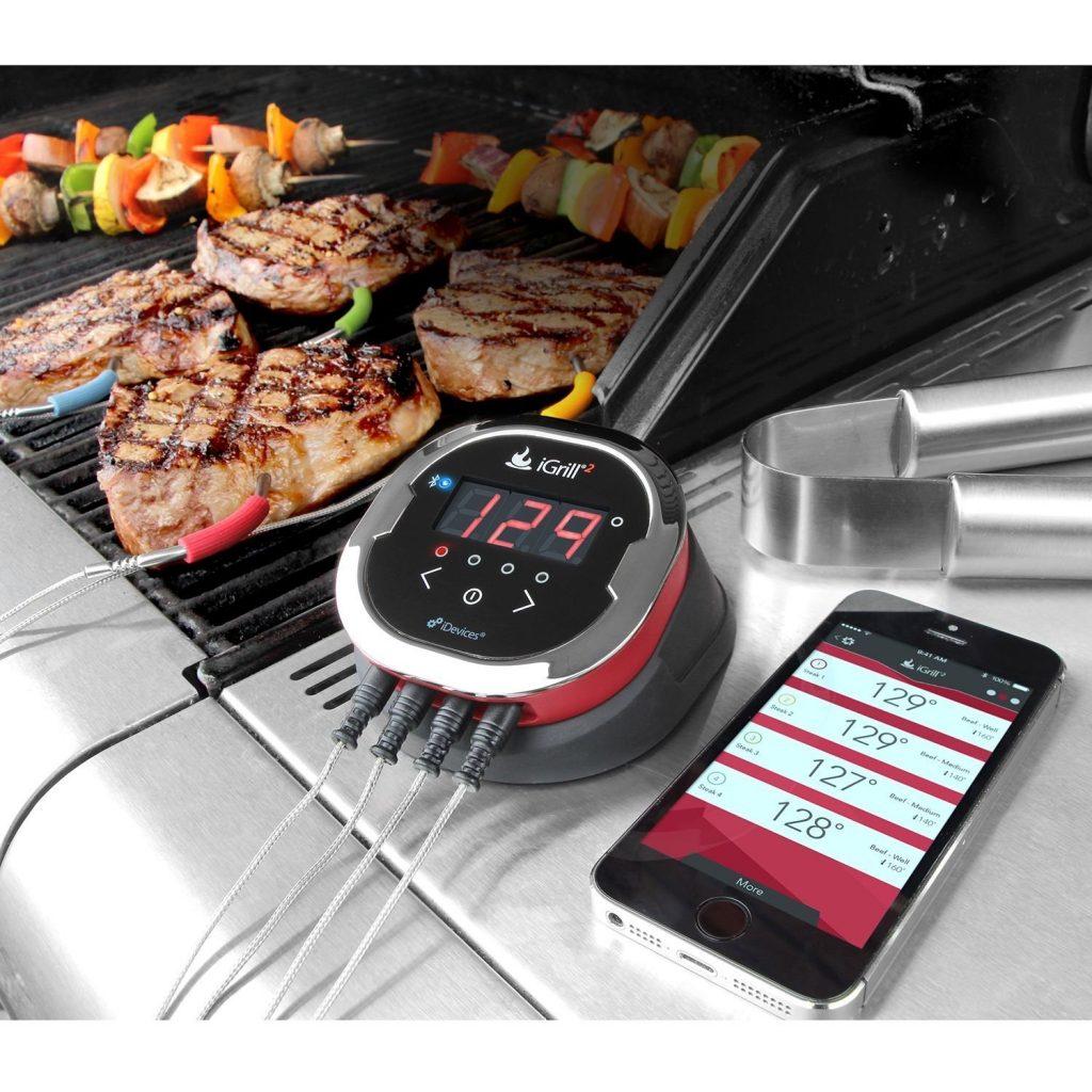 BBQ Grill temperature gauge