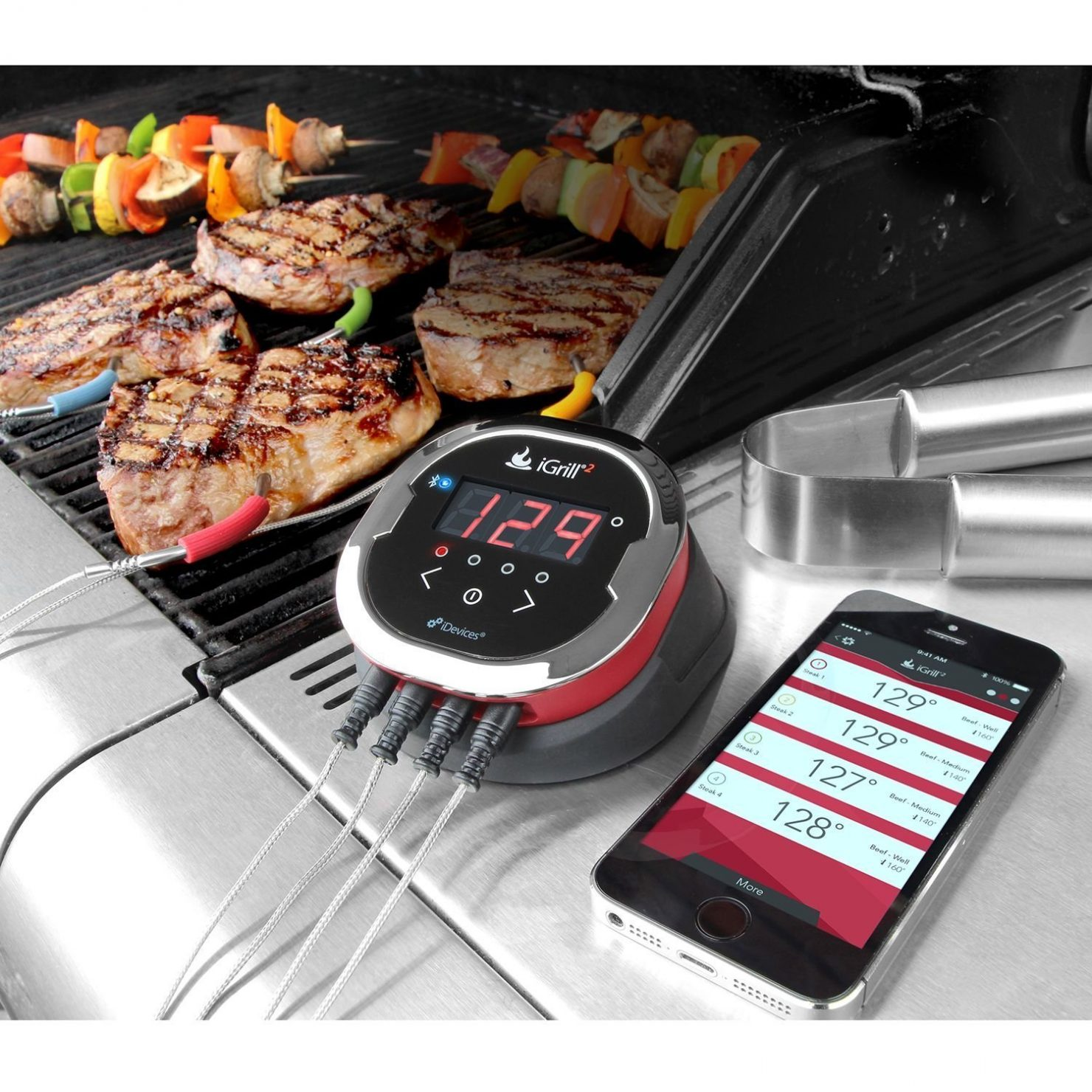 BBQ Grill temperature gauge - last minute Father's Day gift ideas - Econodek