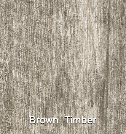 Econodek Brown Timber wood plank vinyl decking design