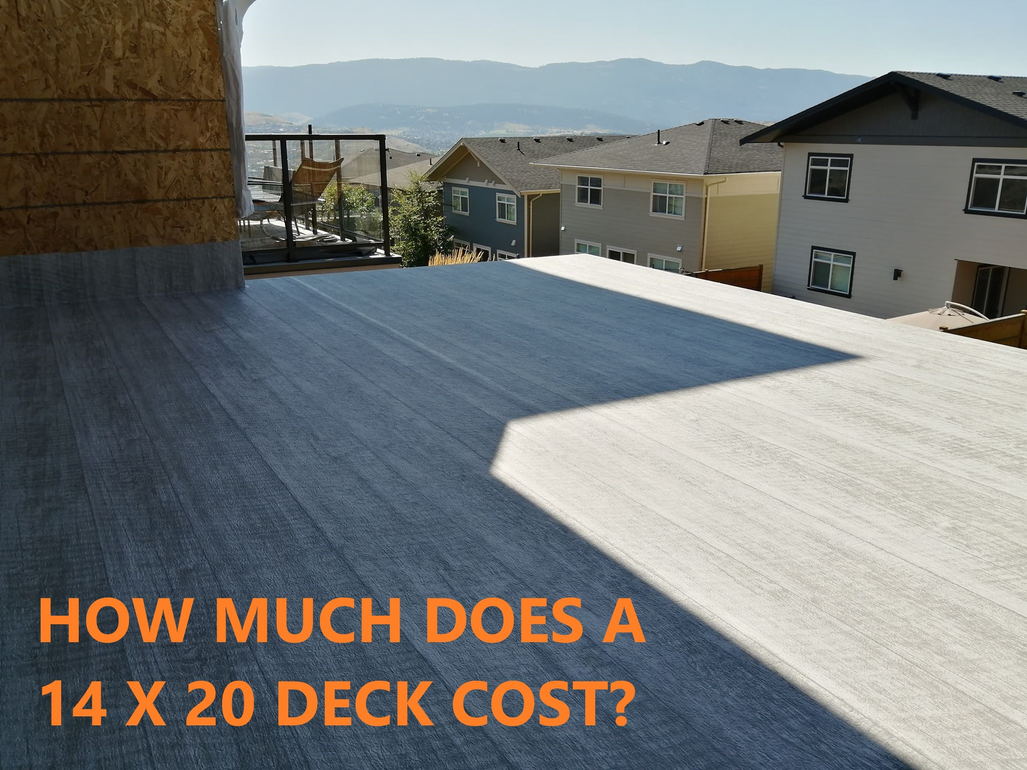 How Much Does A 14×20 Deck Cost | Econodek™