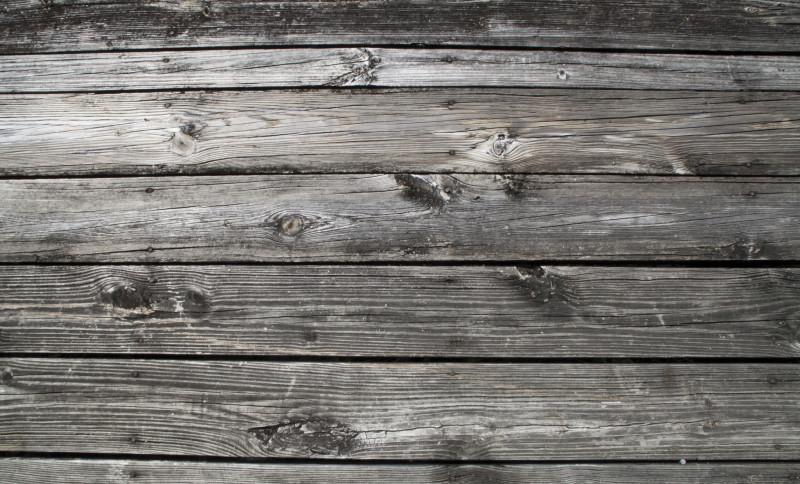 Rustic vinyl plank flooring example