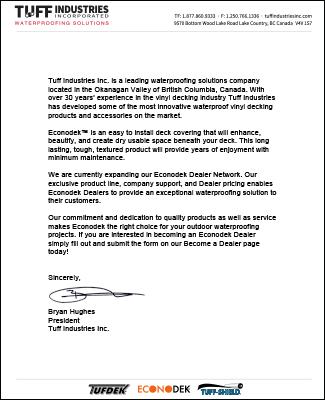 letter from president