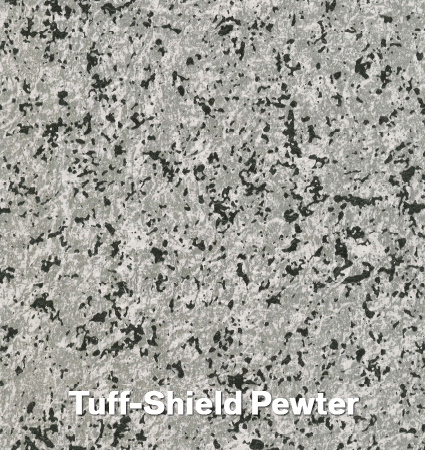 Tuff-Shield Pewter Vinyl Decking Product - Econodek