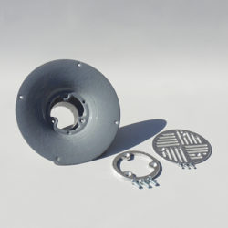 Tuff Seal Drain with cover grate and screws - Econodek